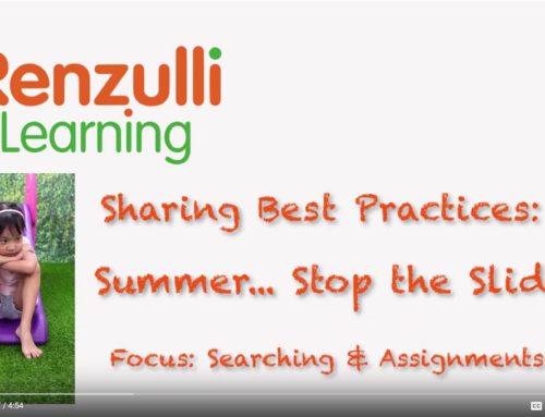 Sharing Best Practices: Avoid the Summer Slide!